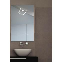 Miroir Led, LUI 80H x 50L cm