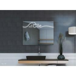 Miroir avec éclairage LED -...