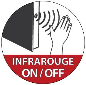 Interrupteur infrarouge
