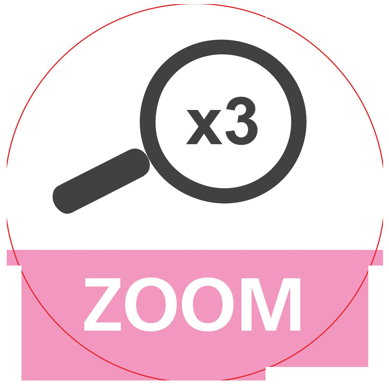 Zoom x 3